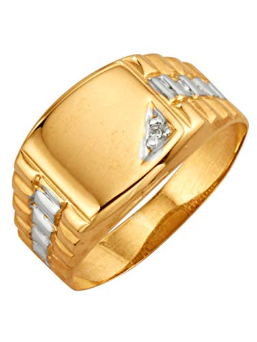 KLiNGEL Herrenring mit Diamant