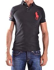 RALPH LAUREN - Polo big poney Ralph Lauren noir pour homme