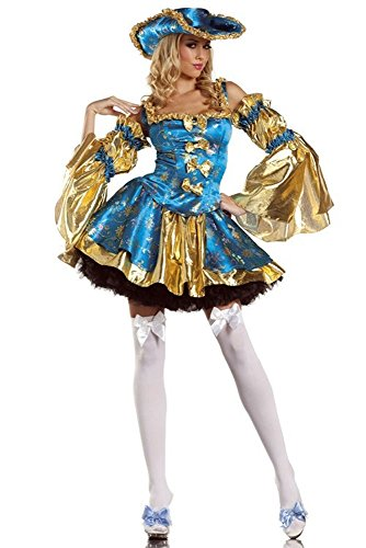 Kostüm Luxuriöse Piraten - Piraten Kostüm Luxuriös Opera Ballettkleidung Damen M