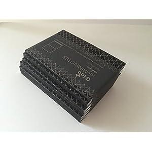 Mini Notebooks Kit 10Blöcke MATT SCHWARZ - GLOO MY MININOTES