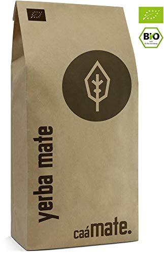 Yerba Mate Tee BIO 500g ● gereift ● luftgetrocknet ● rauchfrei ● plastikfrei ● fair ● Matetee aus Mateblättern, Mateaststückchen und Mateblattpulver ● DE-ÖKO-006