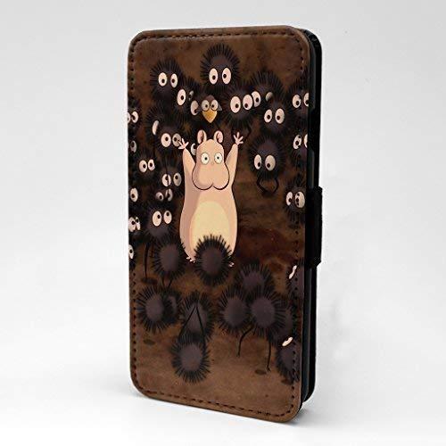 Studio Ghibli Cartoon Bedruckt Telefon Flip Case Hülle für Samsung Galaxy S7 - Chihiros Reise - S-G849