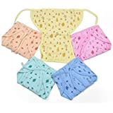 Baby Shopiieee Reusable Cotton Cloth Diaper/Langot/Nappy For New Born Baby (3-6 Months Pack Of 6) Print & Color May Vary
