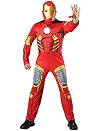 Mens Marvel Superhero Iron Man Costumes Standard