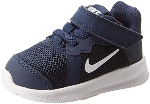 Nike Unisex Baby Downshifter 8 (TDV) Hausschuhe, Blau (Midnight Navy/White-Dark Obsidian-Black 400), 21 EU