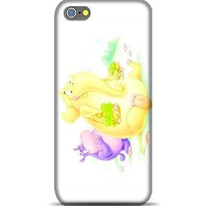 Style baby Yellow Elephant With Birthday Cakes Apple Iphone Se Phone Case