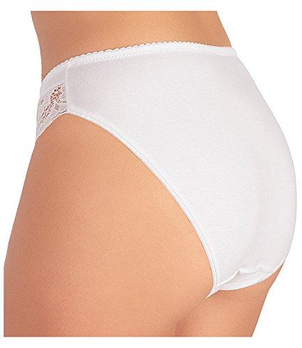 Jadea - Slip Donna 529 3 Pezzi Bianco