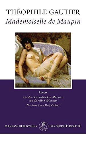 Mademoiselle de Maupin: Roman