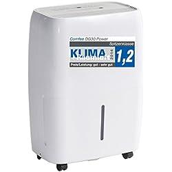 Comfee Luftentfeuchter/Bautrockner / Luftreiniger DG-30 Power 2in1 / 3 Jahre Garantie, 30 Liter, Raumgröße ca. 72m²/180m³