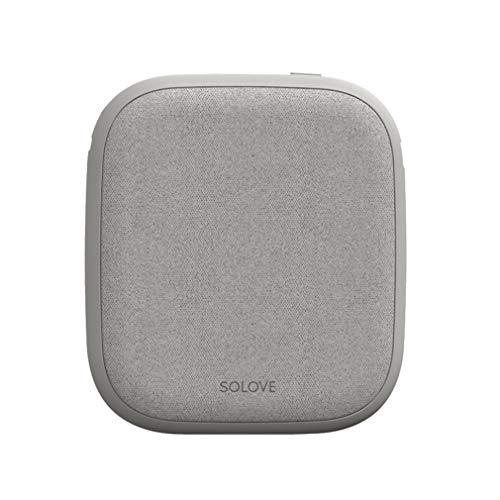 HUATINGRHEL Tragbares Wireless Power Bank 10000mAh,Kleinster und leichtester Externer Akku mit 2 Ausgängen,Kompatibel mit Samsung S10/S9/S8/S7/Note 9/8/7 und mehr Handys, Gray (Samsung Note 2 Externes Ladegerät)