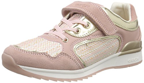 Geox J Maisie Girl F Mädchen Low-Top Pink (Rosec8011)