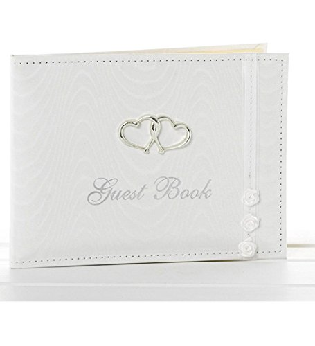 White Wedding Bridal Guest Book Wedding Decorations, Gifts