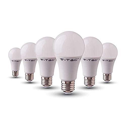 LED Glühbirne   Ersetzt 60w   6er Set E27   A60 Leuchtmittel   9 Watt   806 Lumen   6400 Kelvin