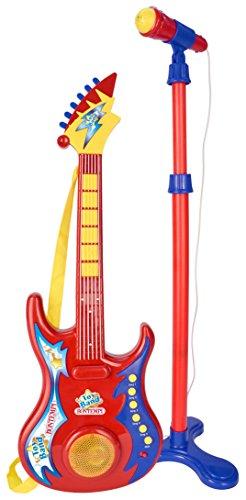 Bontempi 247020 - Guitarra electrónica con micrófono