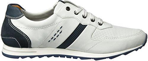 Fretz Men Rocket, Sneakers Basses Homme Weiß (White)