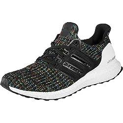 Adidas Ultraboost, Zapatillas de Running para Hombre, Nero Core Black/Active Red, 38 2/3 EU