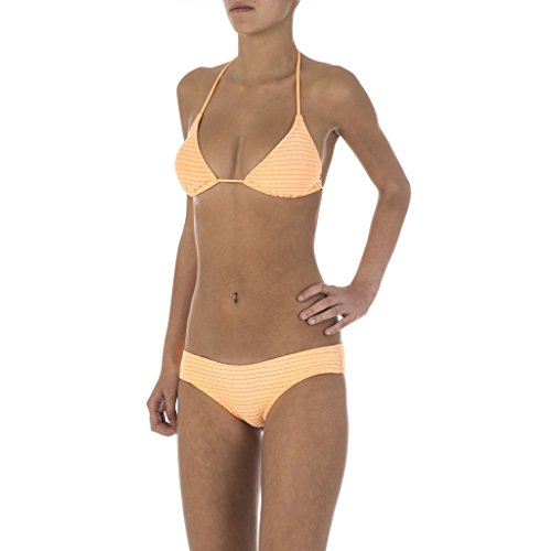 RIP CURL Spellbound Tri Set Bikini pour Femme M Orange
