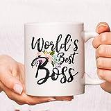 ZonaloDutt Worlds Best Boss Coffee Mug Worlds Best Boss Mug Funny Boss Mugs Boss Coffee Mug Boss Mug Boss Cup Boss Lady Coffee Mug