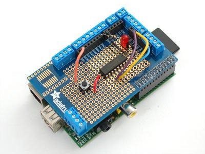 Adafruit Shield de prototypage pour Raspberry Pi (Pi Plate)