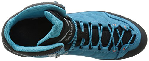 Salewa WS Rapace GTX Damen Trekking- & Wanderstiefel Blau (Crystal/Clementine 2411)