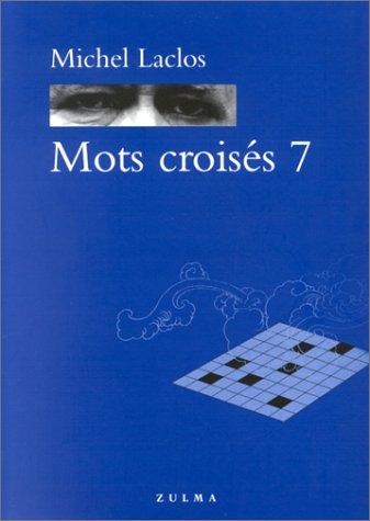 Mots croisés, numéro 7