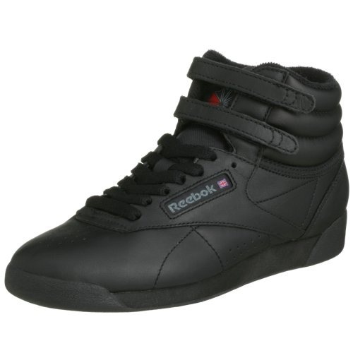 Reebok Freestyle Hi, Sneakers Hautes Mixte adulte Noir (Black)
