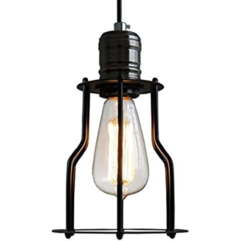 Ancernow E27 caldo creativo moda lampade a sospensione Lampadari Industriali Testa singola Light Rail Rack #12-401