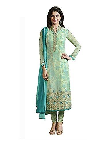 Special Mega Sale Festival Offer C&H Green Designer Salwar Suits