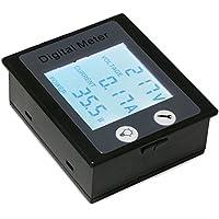 DROK® AC multimetro digitale 80 ~ 260V 0 ~ 100A Tensione Corrente / tester di energia con display LCD Full-schermo STN, 360 gradi Visualizza Volt Amp Potenza Tester Gauge Monitor Tester con incorporato Shunt