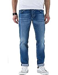 Meltin'Pot - Jeans RAF D0132-UK418 pour homme, style droit, taille normale, taille médias