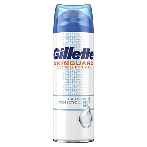 Gillette SkinGuard Sensitive Rasiergel Für Männer, 3er Pack (3 x 200 ml)