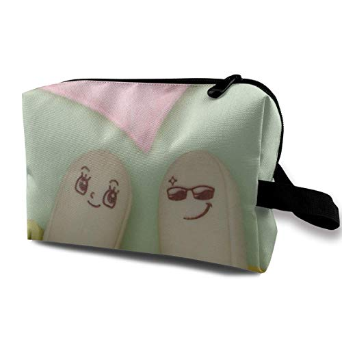 Banana Love Magic Makeup Bag Lazy Cosmetic Bag Portanle Travel Handbag -