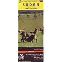 Carte routière : Soudan