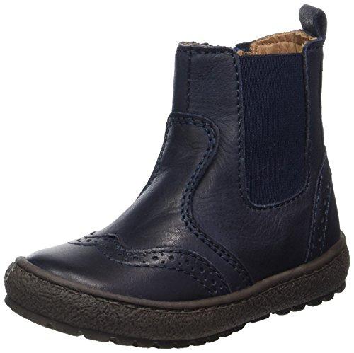Bisgaard Unisex-Kinder Stiefelette Chelsea Boots, Blau (600 Blue), 25 EU