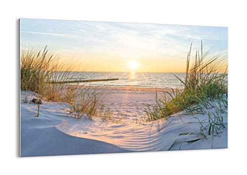 Glas - Glasbilder - Einteilig - Breite: 120cm, Höhe: 80cm - Bildnummer 3989 - zum Aufhängen bereit Kunstdruck - GAA120x80-3989