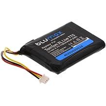 Blumax - Batería de iones de litio para TomTom one XL V2 y V3 (1160 mAh)