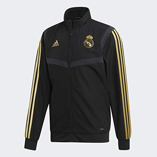 adidas Performance Herren Real Madrid Trainingsjacke Schwarz XS