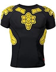 G-Form PRO-X infantil–Camiseta de compresión de manga corta Iconic, talla XL), color amarillo