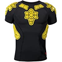G-Form PRO-X infantil–Camiseta de compresión de manga corta Iconic, talla XL, color amarillo