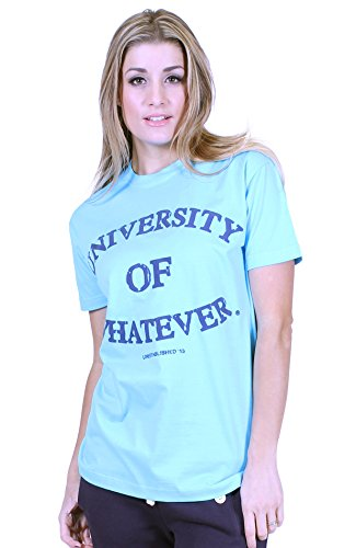 universidad-de-cualquier-ladies-premium-t-shirt-unestablished-azul-ocean-blue-34-36-xs