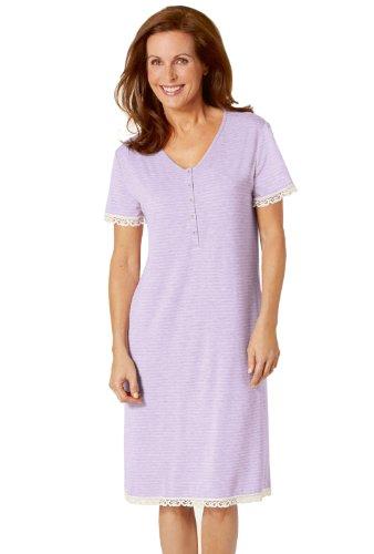 Triumph elegance light 1NS28 chemise de nuit - LAVENDOR BREEZE