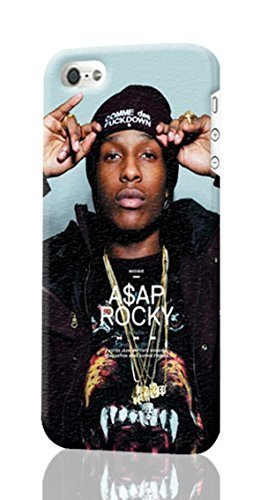 SUUER Asap Rocky iPhone 5C 3D Case , Designer Personalized Custom Plastic Hard CASE for iPhone 5C Durable New Style ROUGH Skin 3D Case Cover