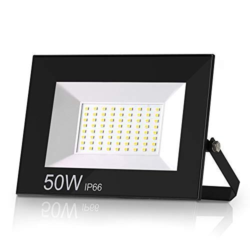 Aurorast Foco LED Exteriore 50 4000LM, Potente Luces Led Exterior IP66, Luz...