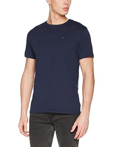 Tommy_Jeans Herren T-Shirt Tjm Original Jersey Tee Blau (Black Iris 002)