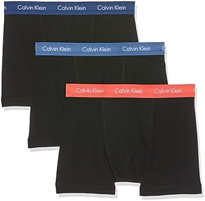 Calvin Klein 0000U2662G, Canzolcillos Para Hombre, Pack de 3