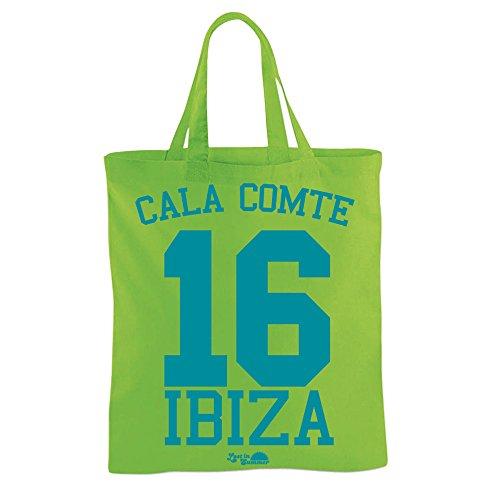 Lost in Summer: Cala Comte 16 Borsa in Stoffa Spiaggia Verde
