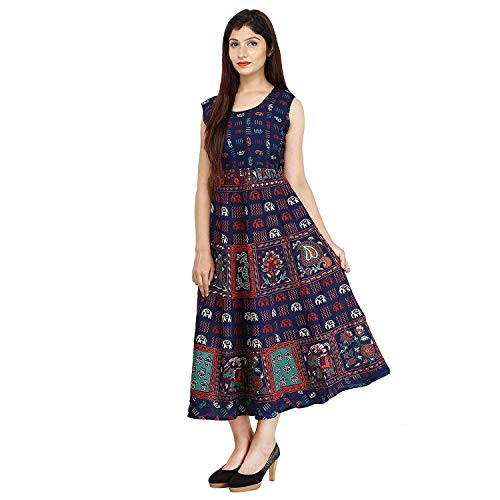 SuperdealsForTheinfinity Women\'s Cotton Dress (Multicolor,Free Size) (Limited Time Offer)