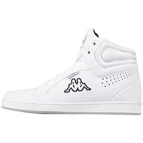 Kappa Unisex-Erwachsene Forward High-Top Weiß (1011 white/black)