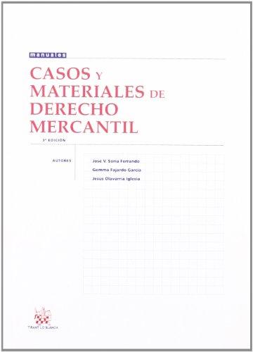 Casos y materiales de Derecho Mercantil