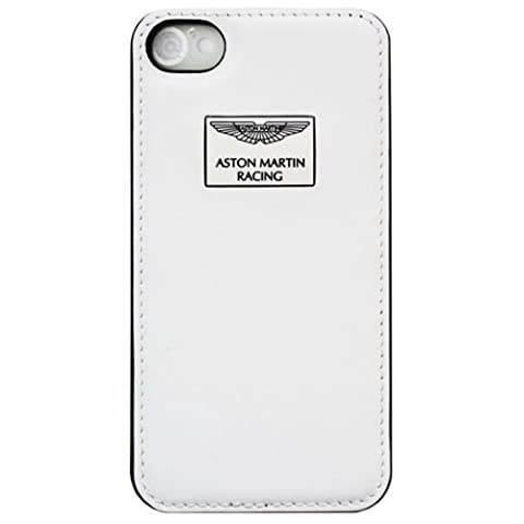 Aston Martin Schutzhülle für iPhone4S Weiß/Rot